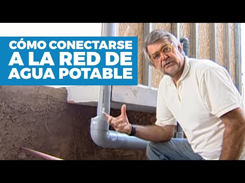 C mo conectarse a la red de agua potable youtube for Como arreglar la llave de la tina del bano