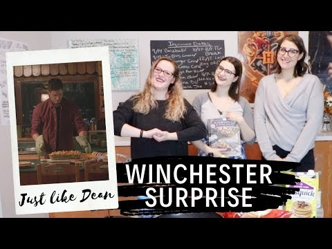 MAKING WINCHESTER SURPRISE FROM SUPERNATURAL