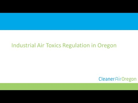 Industrial Air Toxics Regulation