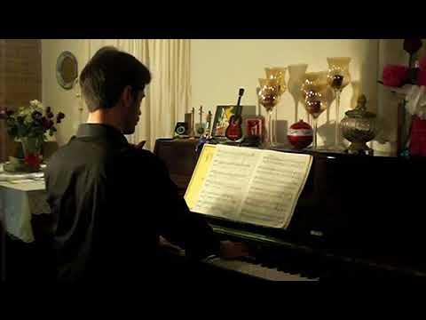 Beethoven's moonlight sonata, Moises Pereira piano