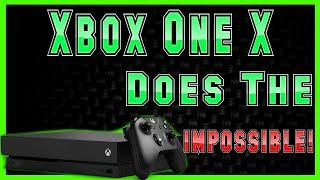 The Xbox One X Announcement That Everyone Thought Was IMPOSSIBLE Just Happened!