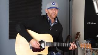 Keith Urban Blue ain't your color (Live) Acoustic Cover