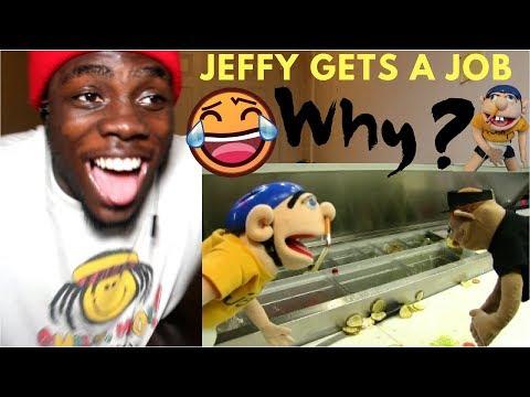 SML Movie: Jeffy Gets a Job! by SuperLuigiLogan REACTION!!!