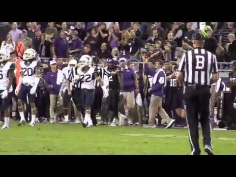 TCU QB Trevone Boykin Jukes Defenders So Hard He Gets A High Five From Opposing Coach and leaves P