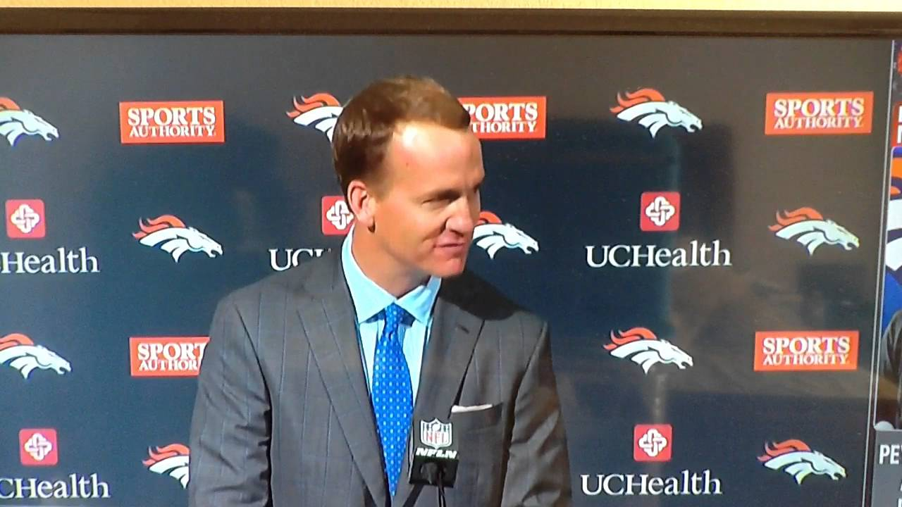 peyton manning ceremonial speech Peyton manning is the best nfl quarterback to ever play the game policy the most common and most complex of the persuasive theses is the proposition of policy, which advocates a.