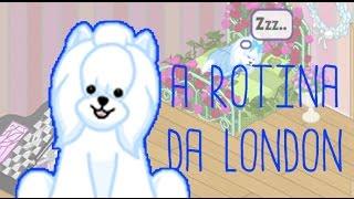 Webkinz: A ROTINA DA LONDON!