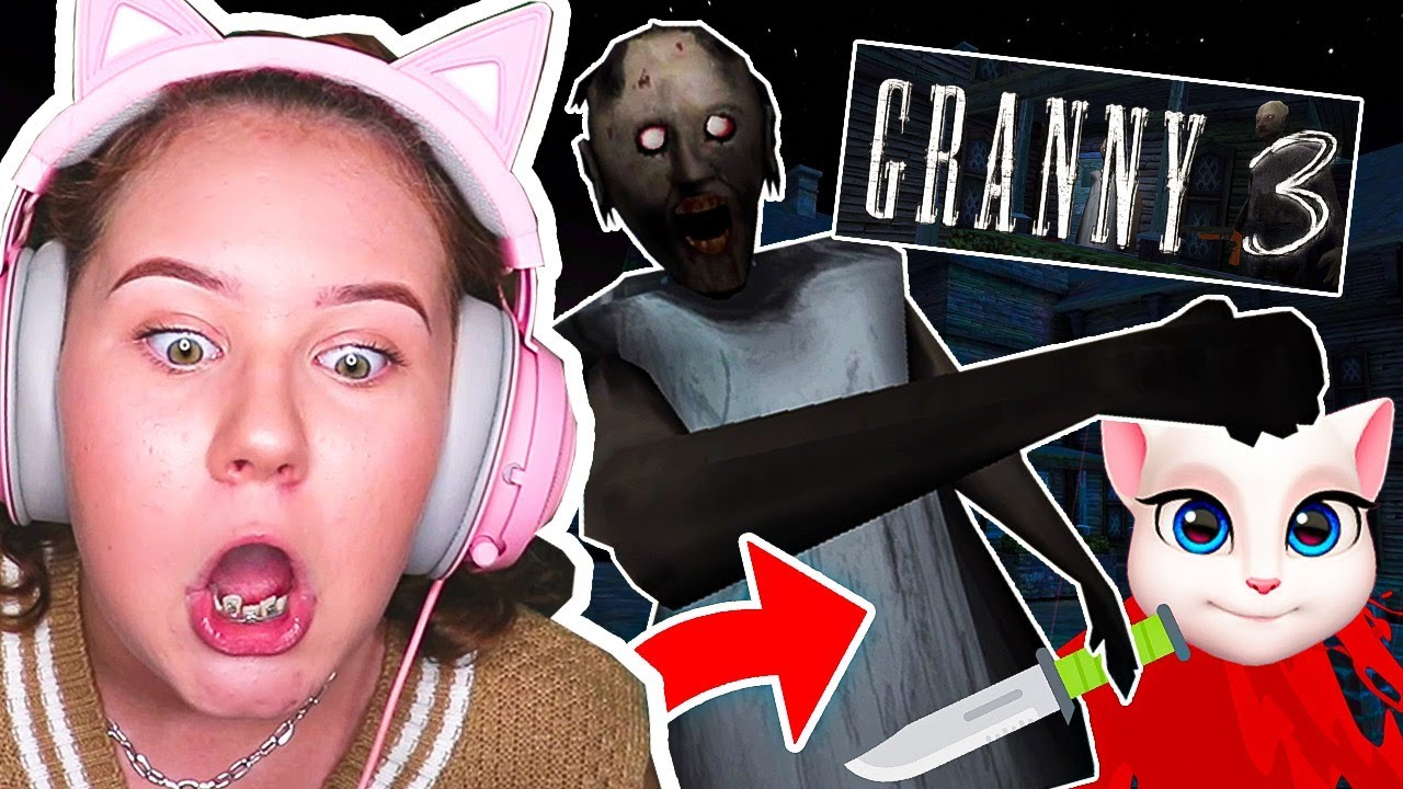 Do Not Play GRANNY 3 AT 3AM!!