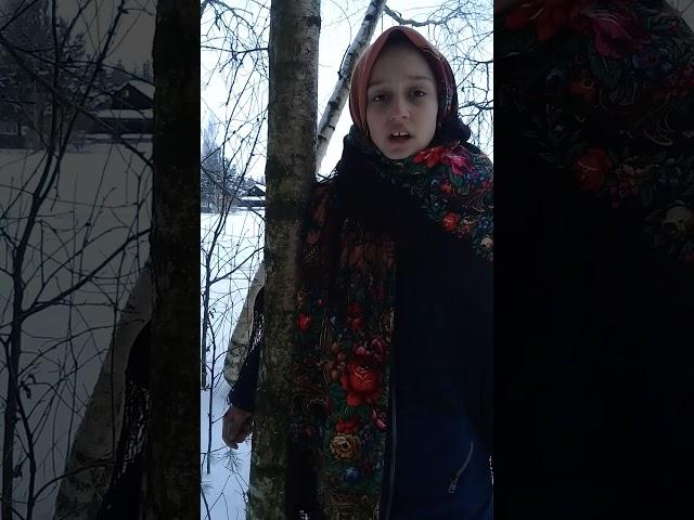 Изображение предпросмотра прочтения – АлинаСоснина читает произведение «Русь» А.А.Блока
