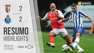 Highlights   Resumo: SC Braga 2-2 FC Porto (Liga 20/21 #18)