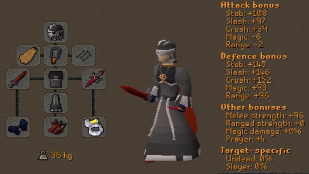 Maxed Void Dragon Sword PKing