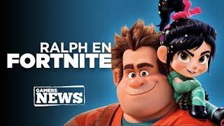 Gamers News - ¿Ya viste a Ralph en Fortnite?