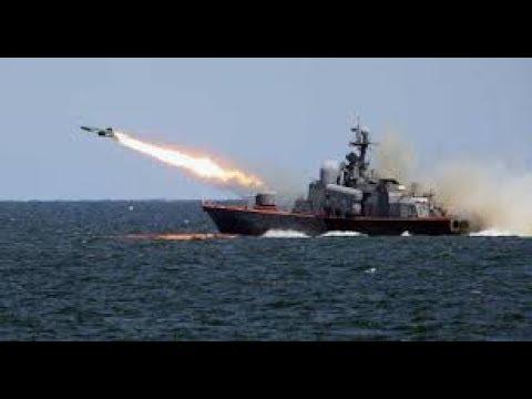 Russlands Marine feuert Raketen auf Stellungen der Banditen in Syrien
