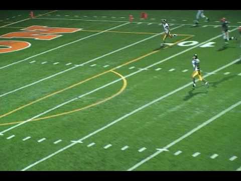 Paul Delaney's punt vs ETHS 1-yard line