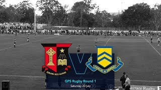 GPS Rugby 2019 R1: St Joseph's Gregory Terrace v Toowoomba ...