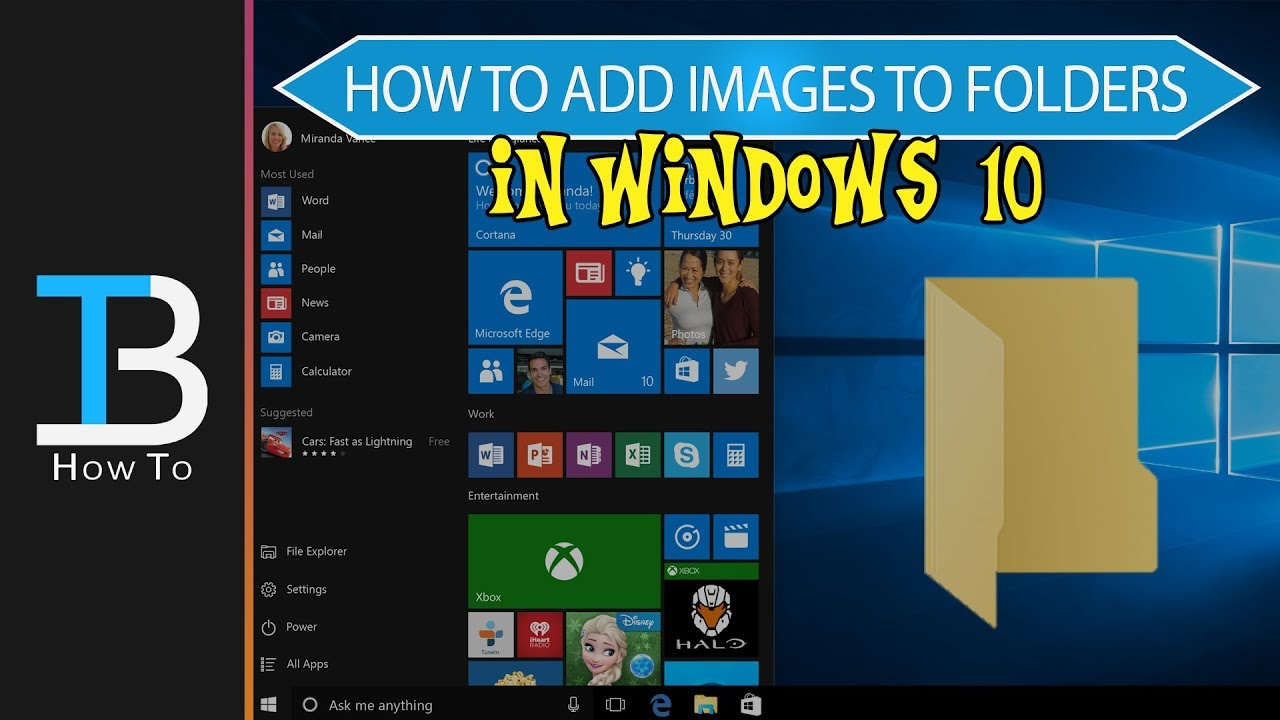 How To Add Custom Icons To Your Folders In Windows 10 Make Folder Icons Images In Windows 10 Youtube