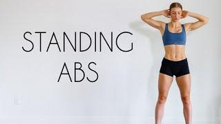 10 min STANDING ABS Workout (Intense)
