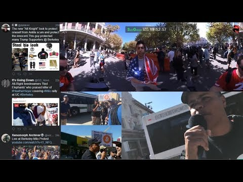 [09/24/17] Berkeley Protests - Free Speech Event Canceled