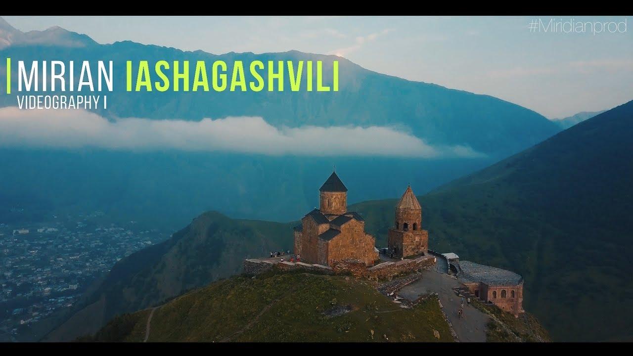 Kazbegi / Gergeti Trinity Church / 4k / Miridian Prod.Dji Mavic Pro Video Test