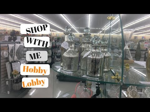 HOBBY LOBBY SHOP WITH ME-OCTOBER 2017