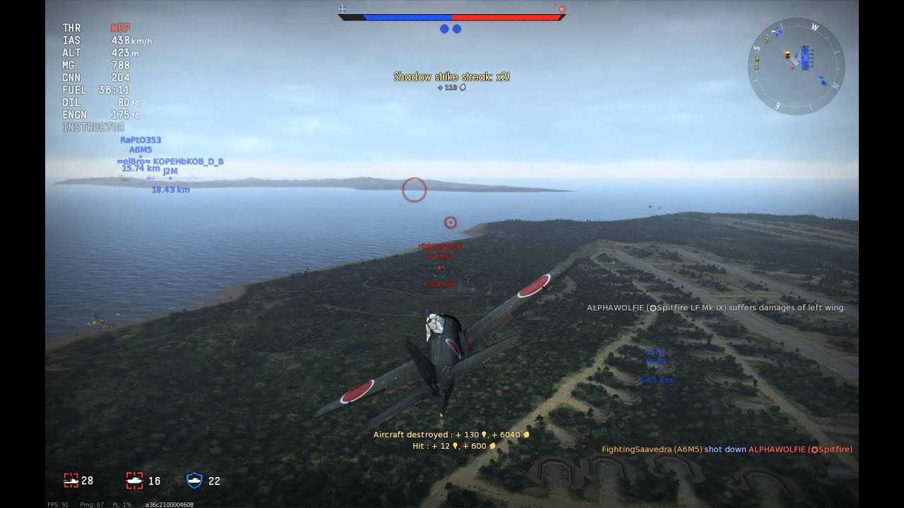 War Thunder: the Violent Option