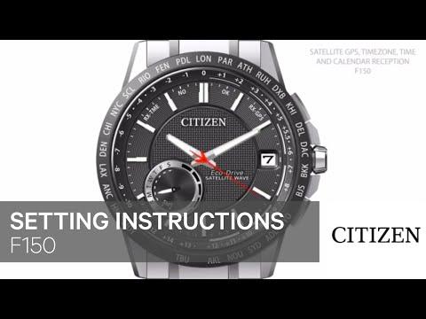 Official Citizen E650 Setting Instruction Full Download