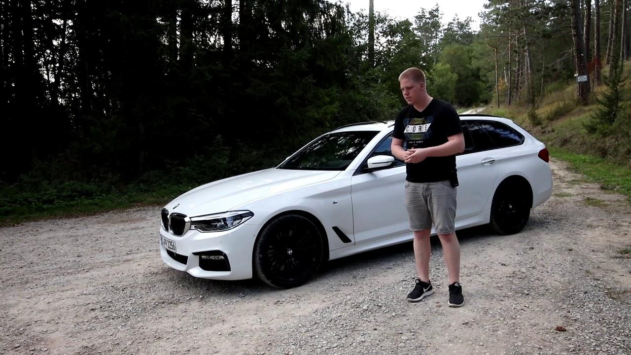2019 Bmw 540i Xdrive Touring Test Review Probefahrt Fahrbericht