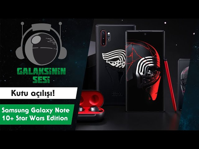 Kutu açılışı #7 - Samsung Galaxy Note 10+ Star Wars Edition