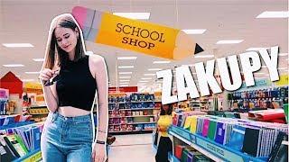 JEDZIEMY NA ZAKUPY SZKOLNE! *Back to school vlog*