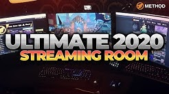 ULTIMATE Streaming Room 2020 | Twitch Partner Stream Setup | Method Sco