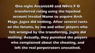 Lord Zarneth - Xfer Admission & Explanation