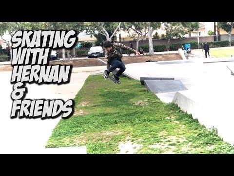 SKATING WITH HERNAN AND FRIENDS !!! - NKA VIDS -
