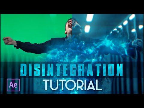 Disintegration Effect | (After Effects Tutorial)
