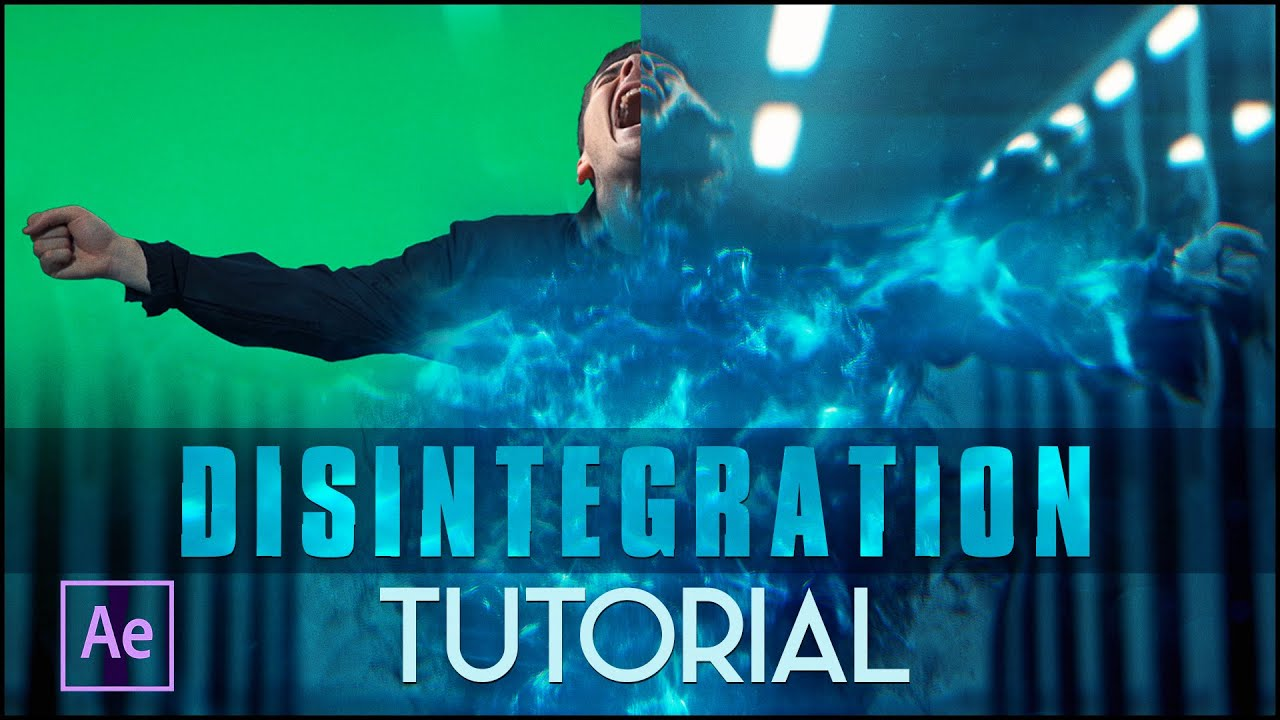 Disintegration Effect | (After Effects Tutorial)