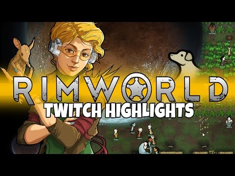 Rimworld - The Dysfunctional Family - Twitch Highlights