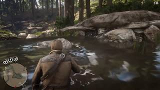 Red Dead Redemption 2 Kill Fish With Sticks Of Dynamite
