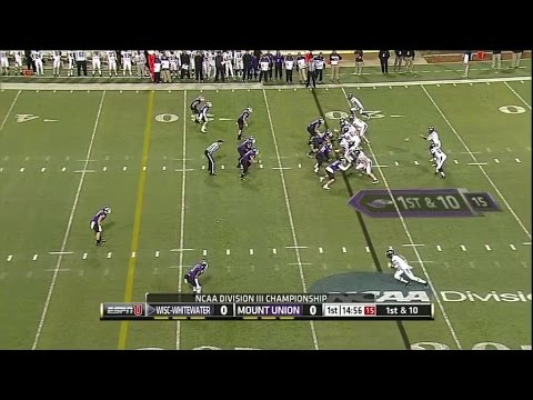 2014 Stagg Bowl: Wisconsin-Whitewater at Mount Union