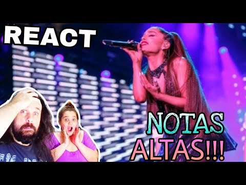 REAGINDO: ARIANA GRANDE - BEST  VOCALS  1 REACTING
