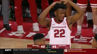Arkansas vs. Indiana 11/18/2018