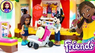 Lego Friends Andrea's Park Performance Build Review Silly Play