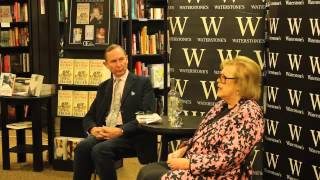 Lady Antonia Fraser in conversation with A.N Wilson.