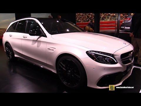 2016 Mercedes AMG C63 S Wagon - Exterior and Interior Walkaround - 2015 Frankfurt Motor Show
