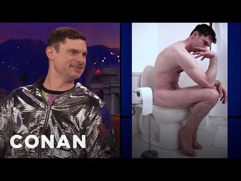 Flula Borg Looks Like A Lot Of Famous Art  - CONAN on TBS