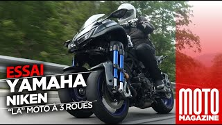 Yamaha Niken - l'incroyable essai par Moto Magazine
