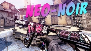 CS:GO - M4A4 | Neo-Noir Gameplay