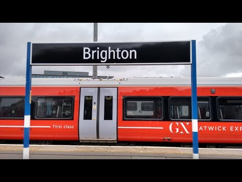 Full Journey on Gatwick Express (Class 387) from London Victoria to Brighton