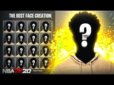SEXIEST FACE CREATION TUTORIAL! LOOK LIKE A CHEESER!!! NBA 2K20 BEST FACE CREATION SCAN LOOK COMP!!!