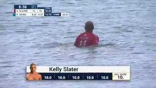 Billabong Pro Tahiti : Kelly Slater signe un 20/20 !