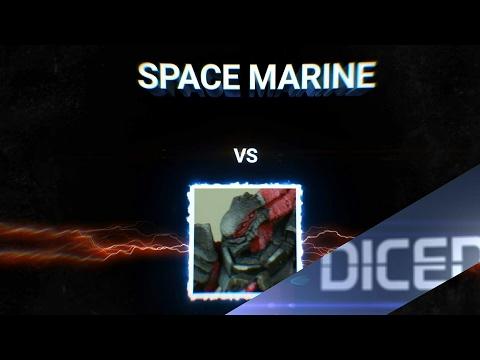 SPACE MARINE vs UNIDRON BATROID | Neues Format | DICED