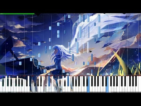 My Soul, your Beats!  Angel Beats! Opening 1 Piano Tutorial Synthesia  Animenz