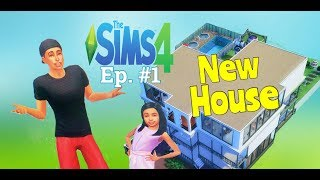 SIMS4 Ep.1: 1st Day At New House Weirdness with Amaya